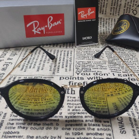 Brand new Ray-Ban rb2447 round sunglasses